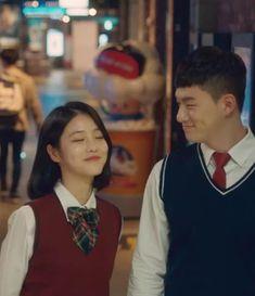 Drama Korea, Korean Drama, Teen Web, Ulzzang Short Hair, Teen Images, Web Drama, Ulzzang Couple, Couple Aesthetic, Girl Short Hair