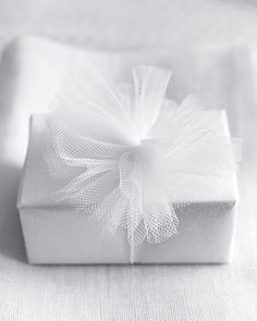 a #present in tulle...