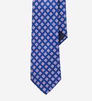 Americano Necktie in Blue Hollis Print
