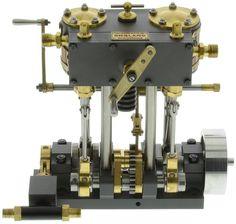 Martin Twin Marine Steam Engine