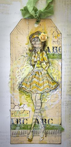 Creative Mayhem: Prima Mixed Media Doll Stamps by Julie Nutting