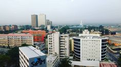 Last view from the top #Abidjan