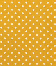 Premier Prints Outdoor Polka Dot Yellow Fabric
