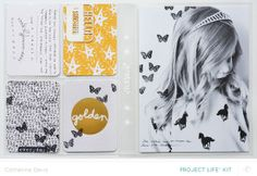 Catherine Davis Project Life layout with the @Studio_Calico Office Hours Kits.