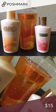 d4a4e2676fe Victoria s Secret Amber Romance lotion  amp  spray Victoria s Secret Amber  Romance lotion  amp  spray
