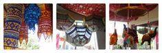 Diwali umbrella decorations