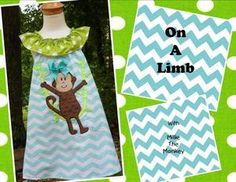 Monkey Business  https://www.facebook.com/pages/Whimsy-Wear/112337318928503?ref=hl