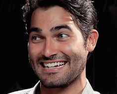 tyler hoechlin | I love his smile I want his teeth