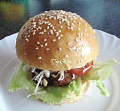 Házi hamburger TraRita konyhájából
