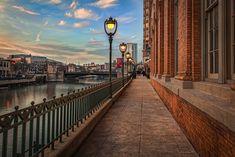 RiverWalk downtown Milwaukee