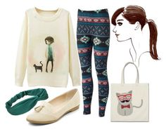 """Cats Corner"" by pandamestas on Polyvore featuring Henri Bendel"