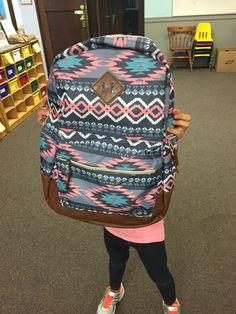 Black School Bags, Back To School, High School, Backpack Purse, School Backpacks, Vera Bradley Backpack, Nail Art, Purses, Cute