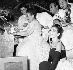 : Elsa Maxwell, Maria Callas