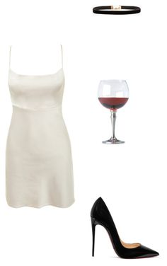 """""""Z club"""" by miumiudeleeuw on Polyvore featuring Match, Christian Louboutin and Azalea"""