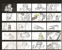 Tangled storyboards
