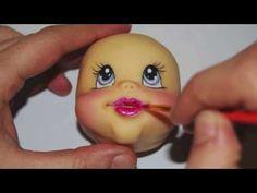 ▶ Tutorial Baby and little duck in sugar paste - Tutorial bambina ed anatroccoli in PDZ CAKE DESIGN - YouTube