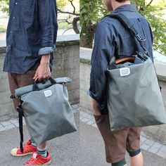 Fredrick Packers - 500D roll top tote