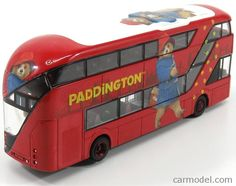 New Routemaster, Paddington Bear, London Bus, Vintage Models, Diecast, Corgi, Scale, Red, Templates