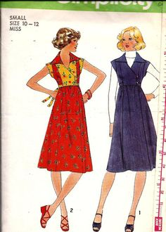 Misses Empire Waist Pullover Dress or by DawnsDesignBoutique, $5.25