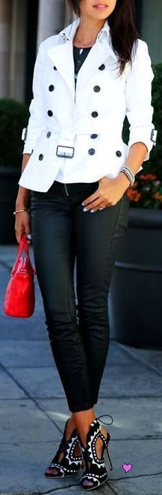 Black & White w/a PoP of Red