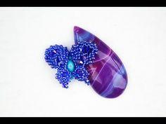 Бабочка из бисера как элемент в бижутерии(Часть 2/3) - YouTube