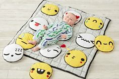 This interactive handmade play mat for Land of Nod is soft, comfy, cute—and covered in emojis. Your tot will learn how to talk tech in no time.