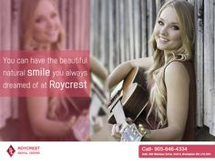 You can have the beautiful natural smile you always dreamed of at Roycrest.