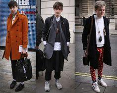 London Men's Fashion Week, sweet street styles. http://www.fashion156.com/daily-blog/day-6-london-fashion-week-aw12-menswear-day-street-style/