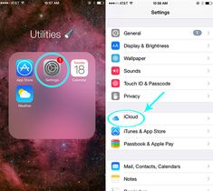 First, open the Settings app, then tap on iCloud. | An Easy iPhone Tip For Everyone Whose iCloud Account Is Full