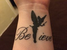 My Believe/Tinkerbell Tattoo