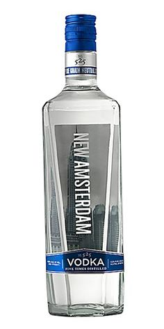 New Amsterdam Vodka Is A Premium 80 Proof Made