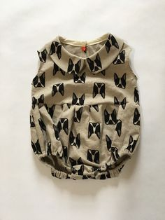 Boston Terrier Romper