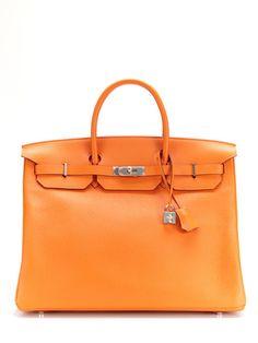 Hermès Orange H Togo Birkin 40cm. Except it's equal to the cost of a car...