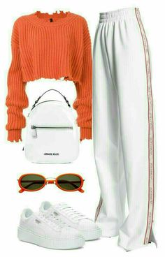 Casual Fall Outfits That Will Make You Look Cool – Fashion, Home decorating Cute Casual Outfits, Swag Outfits, Retro Outfits, Stylish Outfits, Fall Outfits, Orange Outfits, Guy Outfits, Summer Outfits, Batman Outfits