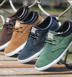 Sneakers Canvas shoes For Men #shoes #menswear | Raddest Men's Fashion Looks On The Internet: http://www.raddestlooks.org