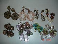 Vintage Clip Earrings Lot of 8 by LillysTreasureChest on Etsy, $12.00