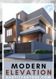 House Outer Design, House Roof Design, Modern Small House Design, House Outside Design, Modern Exterior House Designs, Bungalow House Design, Modern Architecture House, Facade Design, Modern Bungalow House