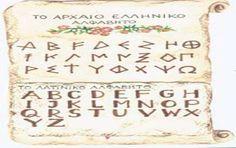 The Roman alphabet comes from kymi Evias Greece .