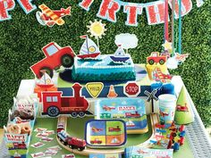How to Throw a Transportation Birthday Party