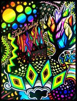 Trippy Glowing Shrooms by ~Silent--Simba on deviantART