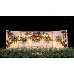 Laras & Rijal Wedding Decoration by Nona Manis Creative Planner - 005 Wedding Backdrop Design, Wedding Reception Design, Wedding Reception Backdrop, Outdoor Wedding Decorations, Rustic Wedding, Wedding Vendors, Weddings, Flower Decoration, Dream Wedding