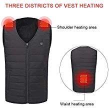 Elektrisch USB Winter Heated Warm Weste beheizt Heizweste Winter Jacke Heizweste