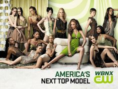 America's Next Top Model - When a marathon of ANTM is on, it's a time-suck, the whole day gone.