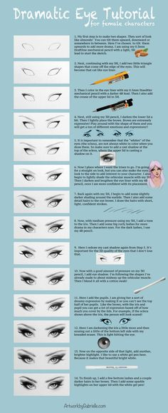 Female Eyes Tutorial by gabbyd70 on DeviantArt .