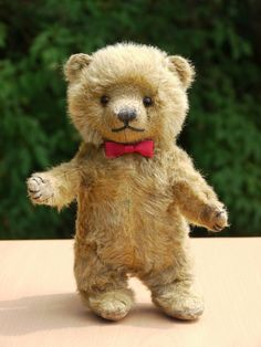 "Antique Chiltern Teddy Bear Cub ""Charlie"" 1940s"
