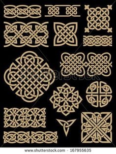 Find Celtic Design Elements Set stock images in HD and millions of other royalty-free stock photos, illustrations and vectors in the Shutterstock collection. Thousands of new, high-quality pictures added every day. Celtic Symbols, Celtic Art, Celtic Knots, Celtic Dragon, Design Celta, Vikings, Celtic Knot Designs, Celtic Patterns, Viking Art