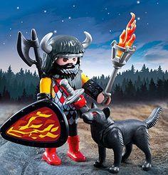 Amazon.de:PLAYMOBIL 5385 - Wolfskrieger - playmobil ritterburg playmobil ritter playmobil knights products playmobil dragons play mobil geschenkideen geburtstag playmobil ideen playmobil aufbewahrung -