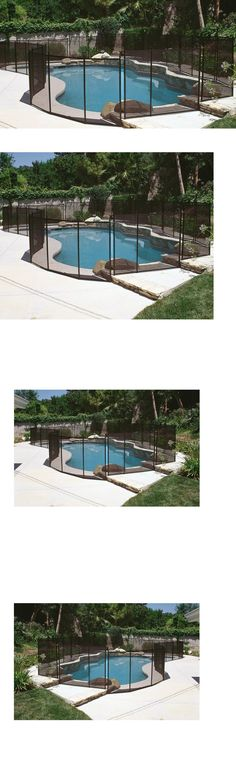 Pool Fences 167851: Swimming Pool Safety Gate Outdoor Above Or In Ground  Baby Kid Dog