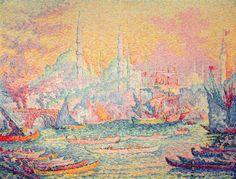 Paul Signac - Istanbul, 1907