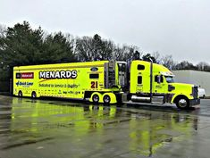 Menard's, Hauler, Transporter, Freightliner, NASCAR, Motorcraft